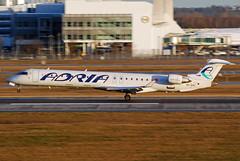 Adria Airways Canadair CRJ-900 S5-AAL (gooneybird29) Tags: airplane airport aircraft airline flughafen muc flugzeug adria crj canadair adriaairways s5aal