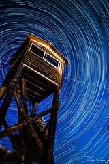 Magnetic North. (Tristan K.) Tags: night stars landscape star earth north rotation polar startrails startrail polarstar