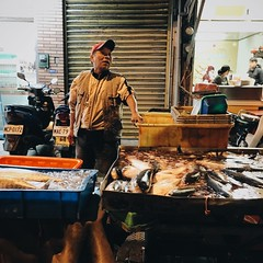 Fish market (yihan0912) Tags: fish market explore freshfish streetshoot dailyshoot vsco instagood iphone6s