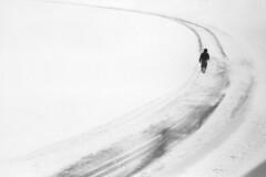 white canvas (Marm O. Set) Tags: winter blackandwhite woman snow film girl monochrome lines analog 35mm canon kodak olympus 35mmfilm snowing analogue canoscan filmscan blackandwhitefilm 35mmblackandwhite kentmere 35rd kodakd76 olympus35rd 40mmf17 kentmere400 kentmerefilm 9000f canoscan9000f canoscan9000 9000fmarkii canoscan9000fmarkii