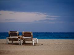 two_deckchairs_in_love (Joerg Esper) Tags: sea seascape beach strand landscape sand fuerteventura playa canarias olympus atlantic es landschaft atlanticocean spanien atlantik jandia pjara atlantischerozean olympusomdem1 olympusmzuikodigitaled40150mm14056r