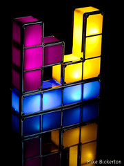 Tetris Light (Mike Bicko) Tags: light black colour lamp canon reflections 85mm usm f18 household ef tetris