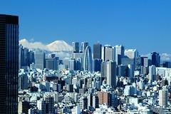 IMG_6323 (Nekogao) Tags: winter urban japan tokyo shinjuku cityscape skyscrapers worldheritagesite mountfuji  metropolis    unescoworldheritage  mtfuji worldheritage tokyometropolitangovernmentbuilding megalopolis bunkyoku     urbanview        bunkyociviccenter  modegakuencocoontower