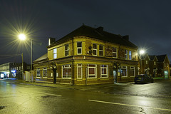 The Staffordshire Knot, Wolverhampton Street, Darlaston 14/11/2016 (Gary S. Crutchley) Tags: street uk travel england urban house black west heritage history public beer bar night dark evening town pub inn nikon long exposure raw slow nightscape shot nightshot image time britain united country great ale kingdom knot tavern shutter after local nightphoto townscape staffordshire westmidlands walsall midlands d800 wolverhampton blackcountry staffs darlaston nightimage hostelry nightphotograph walsallweb walsallflickr