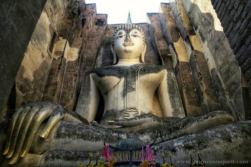 Giant Buddha, Sukhothai, Thailand