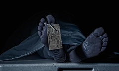 cold by paul howard (howardpa58) Tags: selfportrait cold feet death corpse slab morgue deceased toetag paulhowardphotography