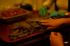 Sarma (Gail Fletcher) Tags: cooking leaves stuffed istanbul grape dolma sarma
