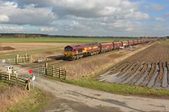 Coaling Stage (Feversham Media) Tags: yorkshire freighttrains northyorkshire sheds dbs hambleton class66 valeofyork ews 66164 dbschenker hambletonwestjunction