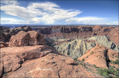 Upheaval Dome - Canyonlands National Park, Utah (helikesto-rec) Tags: utah nationalpark canyonlandsnationalpark canyonlands upheavaldome