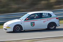 Alfa Romeo 147 GTA (Boushh_TFA) Tags: park winter netherlands nikon 4 nederland 300mm final alfa romeo nikkor gta circuit 147 zandvoort f28 2016 d600 kampioenschap cpz wek vrii endureance