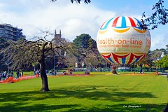 Bournemouth Gardens (cat.preen) Tags: city people tree green grass gardens easter landscape photography photo spring nikon colours ballon busy elements dorset bournemouth