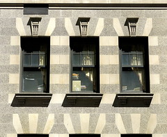 Art Deco, Upper East Side, Manhattan (Hunky Punk) Tags: city nyc ny newyork building window lines architecture office manhattan side east upper artdeco blocks geometrical