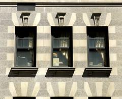 Art Deco, Upper East Side, Manhattan (Hunky Punk) Tags: city nyc ny newyork building window lines architecture office manhattan side east upper artdeco blocks geometrical