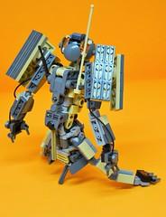 Decibelle_26 (Shadowgear6335) Tags: orange radio robot factory lego good technic hero bionicle mech moc shadowgear6335 bionicle2015
