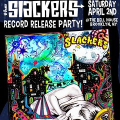 slackers' record release party (hollow sidewalks) Tags: show music shows flyers fareast slackers bellhouse ladrones hollowsidewalks