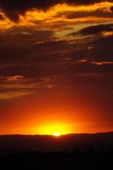 Cielo rojo (Mauriciove00) Tags: red sun sol vertical mxico atardecer rojo nubes horizonte hacienda morelos resplandor tlacotepec zacualpandeamilpas chicomocelo