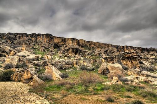 Gobustan Rocks