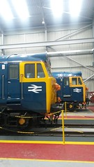 BR Blue Hoovers (Decibel Dave) Tags: britishrail severnvalleyrailway kidderminster englishelectric class50 diesellocomotive type4 brblue 50044 50035