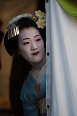 (byzanceblue) Tags: cute girl beauty japan japanese kyoto maiko geiko geisha   gion