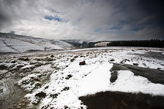 Overlooking the valley (Leighton Roberts) Tags: mountain snow wales clouds nikon freezing abergwynfi d90
