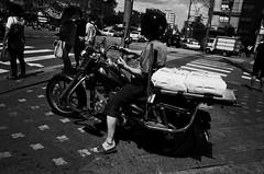 no.876 (lee jin woo (Republic of Korea)) Tags: street shadow blackandwhite bw self subway mono photographer hand snapshot korea snap gr ricoh