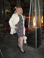 Just Warming Up (rachel cole 121) Tags: tv cd tgirl transvestite transgendered crossdresser