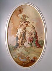 Pflege des Hl.Sebastian (edgarhohl) Tags: saint bayern sebastian barock gemlde hlsebastian
