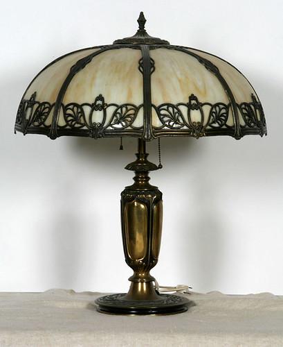Caramel Slag Table Lamp - $495.00