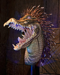 monsterpalooza 2016 - 11 (CE Photogenetix) Tags: show cinema bird monster movie scary dino dinosaur teeth alien makeup evil lizard spooky convention scifi horror fangs spines fx creature cinematic con prop select specialeffects efx specialefx canon40d christinaedwards monsterpalooza specialxf