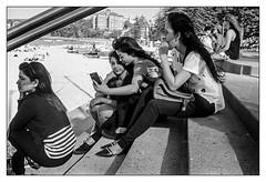 last days of summer  #822 (lynnb's snaps) Tags: 2016 apx100 agfa leicaiiic manly rodinal bw beach film people street blackandwhite blackwhite bianconero noiretblanc monochrome schwarzweis biancoenero 黒と白 bianconegro leica analogue analog lynnburdekinphotography 35mmfilm cv35mmf25colorskopar cv35mmf25colorskoparltm voigtlandercolorskopar35mmf25ltm summer ©copyrightlynnburdekinallrightsreserved rangefinder barnack
