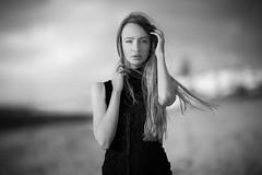 Ksenia (aminefassi) Tags: portrait people beach fashion model morocco    bouznika aminefassi davidplage kseniadanilina