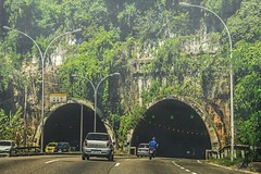 On the way... (maria manuela photography) Tags: road city brazil texture colors car riodejaneiro architecture lights rocks cityscape tunnel wanderlust moto archway ontheroad streetroad traveldestination photography nature travel mariamanuelaphotography freedom tourism view adventure