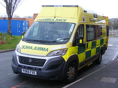 4151 - NWAS - PO65 FXE - 050 (Call the Cops 999) Tags: park uk england west liverpool hospital fiat britain united great north kingdom ambulance vehicles vehicle service emergency 112 services wirral 999 merseyside the nwas fxe arrowe ducato po65