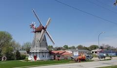 Danish windmill in the little Danish community of Elk Horn, Iowa
