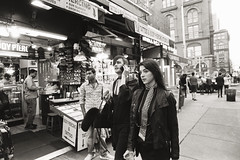 AA008 (heavyasmountains) Tags: nyc newyorkcity blackandwhite slr film 35mm photography nikon candid streetphotography noflash 24mm fm3a filmphotography streetstyle