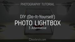 Photo Lightbox DIY (Do-It-Yourself) - Photography Tutorial (kosbrick) Tags: photography diy photo video lego equipment howto tips trick tutorial lightbox moc lightboxx