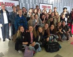 Kamarikuoro lähdössä Belgiaan, terveiset lentokentältä! #vaskivuori #musiikkilukio #vaskis