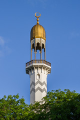 Minaret (meykaabe) Tags: beauty minaret prayer mosque maldives
