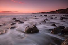 Under the Pink (johnkaysleftleg) Tags: morning seascape sunrise durham tide le seaham blastbeach countydurham seahamharbour sigma1020mmf456exdchsm canon400d durhamcoast ndgrad09 nd15 canon760d