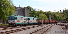 D345 086 + D345 003 (equo25) Tags: train diesel merci eisenbahn railway zug locomotive treno lok ferrovia diesellok guterzug