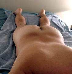 Beefy Butt (poilj) Tags: male naked nude athletic muscular smooth young massage