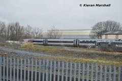 9002 at Inchicore, 2/4/16 (hurricanemk1c) Tags: dublin irish train rail railway trains enterprise railways irishrail nir inchicore 2016 iarnrd 9002 dedietrich ireann northernirelandrailways iarnrdireann