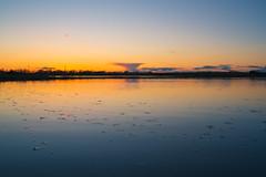 Expanse (joshuacolephoto) Tags: uk travel blue sunset england orange lake holiday colour nature water clouds 35mm landscape ed evening spring pond nikon exposure g wildlife yorkshire journey wetlands d750 series nikkor unexpected expanse 2016