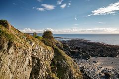 La Pointe de Granville (Franois Reiniche) Tags: winter sea mer landscape eos granville hiver cliffs shore normandie paysage normandy falaises 5dmk3