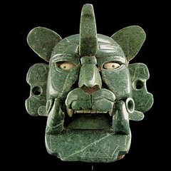 Zapotec Pectoral in the Form of a Mask Representing the Bat God, Piquete Zina, from Monte Albn, Oaxaca, Mexico (mike catalonian) Tags: mexico mask montealban ancientamerica zapotec batgod