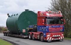 P700JSH  ''Roxburgh Retreiver''  James S Hislop, Kelso (highlandreiver) Tags: truck wagon james transport s lorry cumbria heavy m6 hislop services p700 daf haulage jsh southwaite p700jsh
