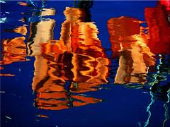 Reflections on water (Ostseetroll) Tags: water reflections geotagged deutschland wasser deu schleswigholstein spiegelungen timmendorferstrand niendorf geo:lat=5399264361 geo:lon=1081491049