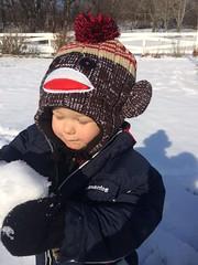 eli discovers snow