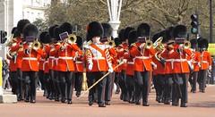 band of the grenadier guards /15/04/2016/ (philipbisset275) Tags: unitedkingdom victoriamemorial centrallondon cityofwestminster englandgreatbritain bandofthegrenadierguards 15042016