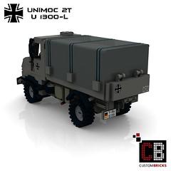 LEGO Custom MW Bundeswehr U1300-L Unimoc CB03 (LA-Design2012) Tags: army lego german instructions custom transporter bundeswehr moc 2t bauanleitung u1300l unimoc custombricks